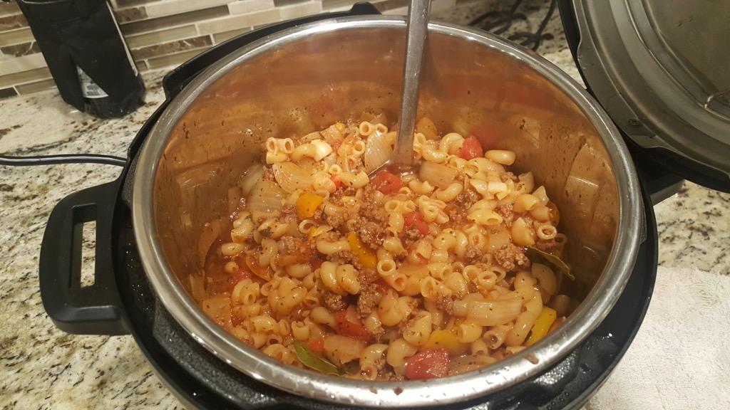 Instant Pot Fancy Goulash